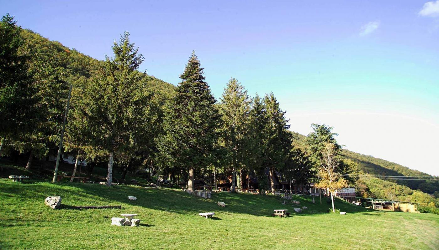 panorami naturali intorno al campeggio
