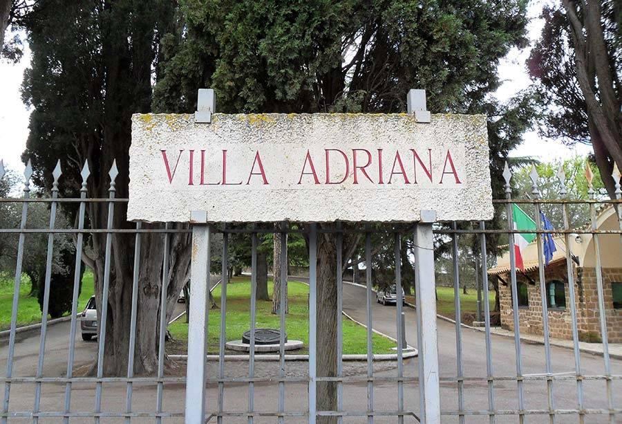 ingresso villa adriana